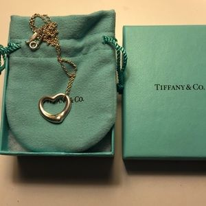 Tiffany & Co Elsa Peretti Open Heart Pendant 22 MM